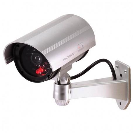 Camara de seguridad falsa con detector de movimiento led tv - Camaras de seguridad falsas ...