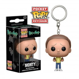 LLAVERO FUNKO POP MORTY RICK AND MORTY ORIGINAL