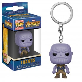 LLAVERO FUNKO POP THANOS AVENGERS ORIGINAL