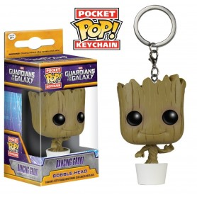 LLAVERO FUNKO POP DANCING GROOT GUARDIANES DE LA GALAXIA ORIGINAL
