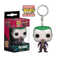 LLAVERO FUNKO POP THE JOKER SUICIDE SQUAD ORIGINAL