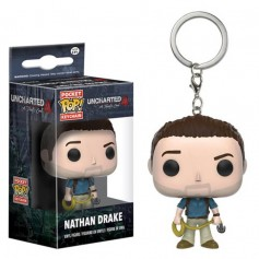LLAVERO FUNKO POP NATHAN DRANKE UNCHARTED4 ORIGINAL