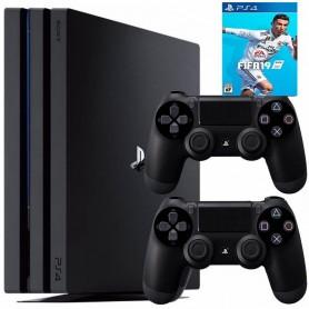 PLAYSTATION 4 PS4 PRO CONSOLA 1TB + 2 JOYSTICK+JUEGO