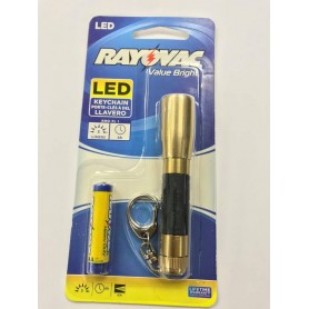 LINTERNA LED LLAVERO RAYOVAC A PILA 6HS 5 LUMENS