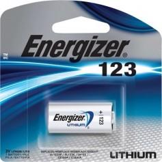 PILA DE FOTOGRAFIA ENERGIZER LITHIUM EL123 CR123A 3V