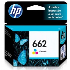 CARTUCHO HP ORIGINAL 662 COLOR 2ML