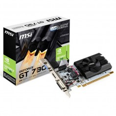 PLACA DE VIDEO MSI GT 730 2GB DDR5 HDMI DVI-D
