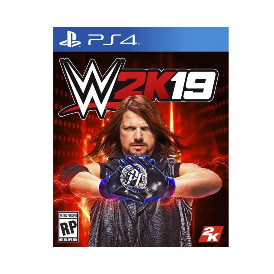 Juego Ps4 Lucha W2k19 Wwe 2019 Playstation 4 Fisico