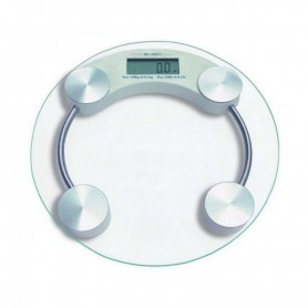 Balanza Digital De Baño o Personal Vidrio 150Kg Grande