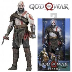 FIGURA KRATOS GOD OF WAR 4 NECA ORIGINAL LICENCIA PS4