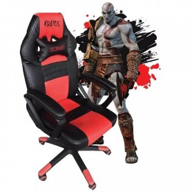 SILLON GAMER KRATOS BUTACA SILLA PC PS4 NOGANET ALMOHADON
