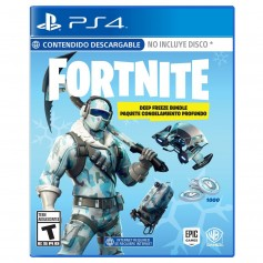 JUEGO PS4 FORTNITE DEEP FREEZE SKIN BUNDLE PLAYSTATION 4