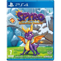 JUEGO PS4 SPYRO REIGNITED TRILOGY PLAYSTATION 4 FISICO