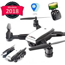 DRONE SIMIL SPARK GPS CAMARA HD 720P FPV PLEGABLE LH-X28WF720P
