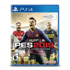 JUEGO PS4 PES 2019 PRO EVOLUTION SOCCER KONAMI