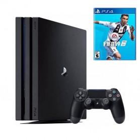 PLAYSTATION 4 PS4 PRO CONSOLA 1TB + 1 JOYSTICK + FIFA 2019