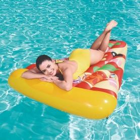 PIZZA INFLABLE COLCHONETA IDEAL PARA PILETA PIZZA PARTY BESTWAY