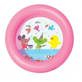 PILETA INFLABLE CHICA 2 ANILLOS 61X15CM 21L BESTWAY