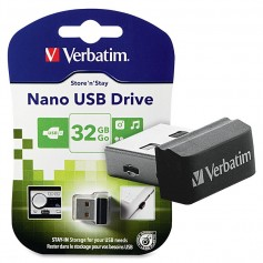 PEN DRIVE 32GB VERBATIM NANO STAY IN