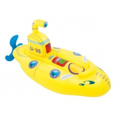 "INFLABLE SUBMARINO AMARILLO NI""OS 1,65MX86CM BESTWAY"