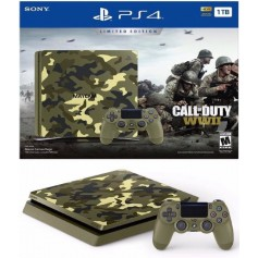 CONSOLA PLAYSTATION 4 SLIM 1TB EDICION ESPECIAL CAMUFLAJE CALL OF DUTY WWII