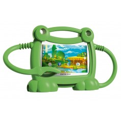 TABLET BGH KIDS Y710 CON SUPER FUNDA PROTECTORA DE CANGREJO GREEN