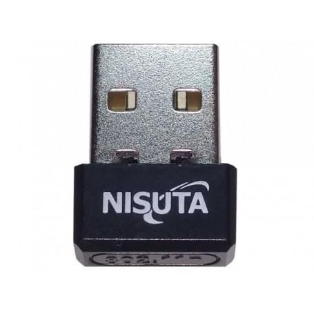 PLACA DE WIFI USB NANO WIRELESS 150MBPS NISUTA