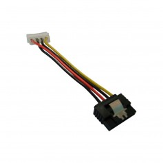 CABLE POWER SATA A 4 PINES MOLEX NISUTA SATA 15CM