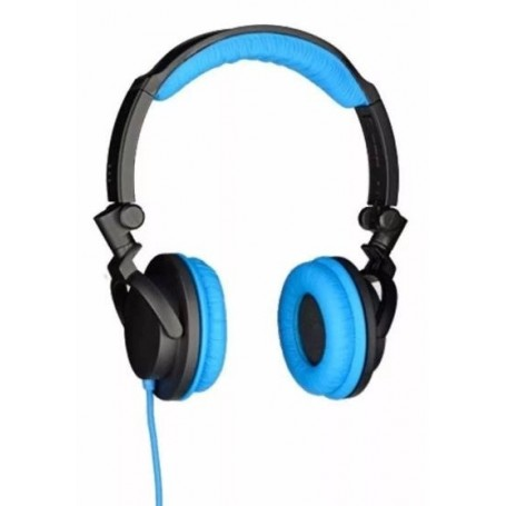 AURICULAR VINCHA BLACK AND BLUE ONE FOR ALL MANOS LIBRES SV-5610