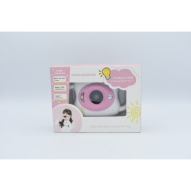 MINI CAMARA KIDS ROSA SOPORTA MICRO SD 32GB 2MP