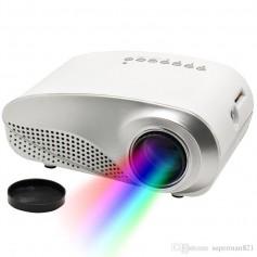 MINI PROYECTOR LED RD802 60 LUMENS SOPORTA FULL HD HASTA 100 PULGADAS