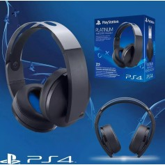 AURICULAR ORIGINAL SONY PS3 PS4 BLUETOOTH PLATINIUM WIRELESS STEREO HEADSET 7.1