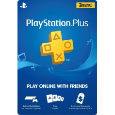 MEMBRESIA PLAYSTATION PLUS 3 MESES
