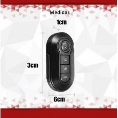LLAVE DE AUTO MINI CAMARA ESPIA OCULTA FULL HD 1080P MICROFONO SEGURIDAD ST-C01