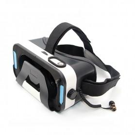 LENTES GAFAS REALIDAD VIRTUAL AURICULARES VR 360 3D CON IMAN DAZA