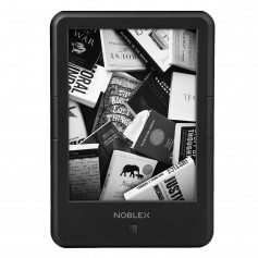 E READER NOBLEX EBOOK 6 PULGADAS 8GB TACTIL LUZ WIFI AUDIO CON FUNDA ER6A02