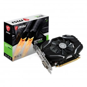 PLACA DE VIDEO MSI GEFORCE 1050TI 4GB OC DDR5