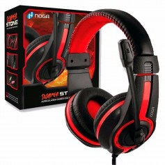 AURICULAR GAMING NOGA ST-819 VINCHA REGULABLE MICROFONO PC