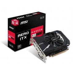 PLACA DE VIDEO MSI RX550 AERO ITX 4GB OC DDR5 BAJO CONSUMO HDMI DVI DIPLAY PORT