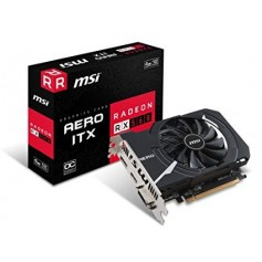 PLACA DE VIDEO MSI RX560 AERO ITX 4GB OC DDR5 BAJO CONSUMO HDMI DVI DIPLAY PORT