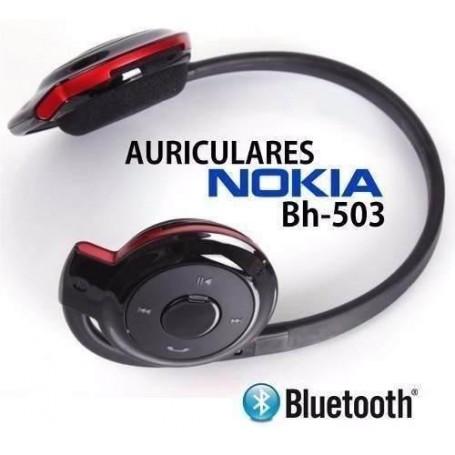AURICULAR BLUETOOTH VINCHA NUCA ENTRADA MICRO SD WIRELESS STEREO HEADSET BH-503