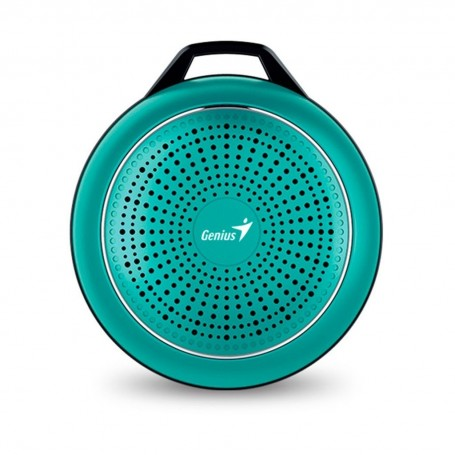 PARLANTE PORTATIL BLUETOOTH AUXILIAR MANOS LIBRES 4.1 GENIUS SP-906BT PLUS 10HS VERDE