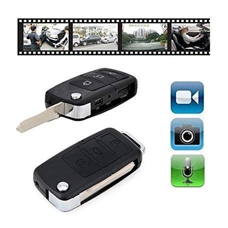 LLAVERO DE AUTO CAMARA ESPIA VIDEO SEGURIDAD DVR USB S818-S918