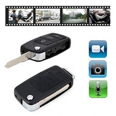 LLAVERO DE AUTO CAMARA ESPIA VIDEO SEGURIDAD DVR USB S818-S918