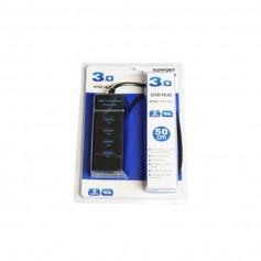 HUB USB 4 PUERTOS USB H 3.0 50CM 5GPBS EN BLISTER