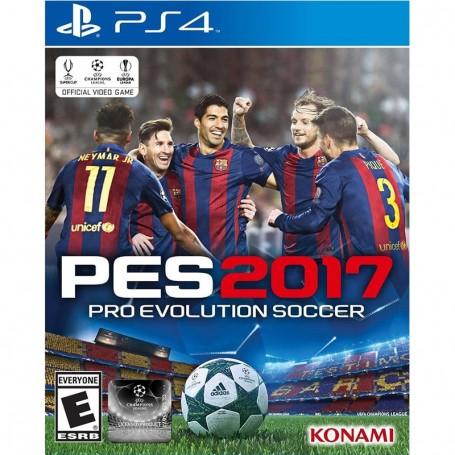 JUEGO PS4 PES 2017 PRO EVOLUTION SOCCER PLAYSTATION 4 FISICO
