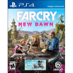 JUEGO PS4 FARCRY NEW DAWN PAYSTATION 4 FISICO