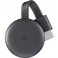 GOOGLE CHROMECAST 3 GENERACION HDMI MAS VELOCIDAD 2.4GHZ 5.8GHZ SMART TV ORIGINAL
