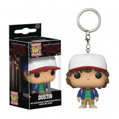 LLAVERO FUNKO POP DUSTIN STRANGER THINGS ORIGINAL