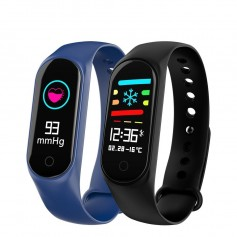 SMARTWATCH BAND FIT WEST M3C RELOJ INTELIGENTE CELULAR ANDROID IPHONE CONTADOR PASOS CALORIAS FRECUENCIA CARDIACA